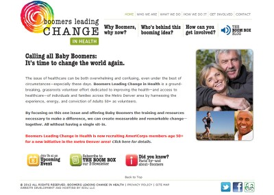 Boomers Leading Change in Health